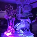 桜氷彫刻(誕生日)