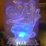結婚式氷ウエルカムボード