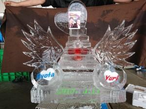 ファストドリンク氷オブジェ