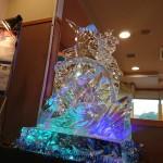 カジキマグロ氷彫刻